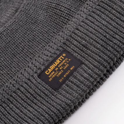 Carhartt WIP Truman Beanie Dark Grey Heather