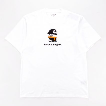 Carhartt WIP Warm Thoughts T-Shirt White1