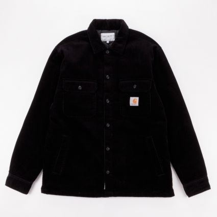 Carhartt WIP Whitsome Shirt Jacket Black1