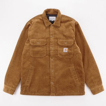 Carhartt WIP Whitsome Shirt Jacket Hamilton Brown1