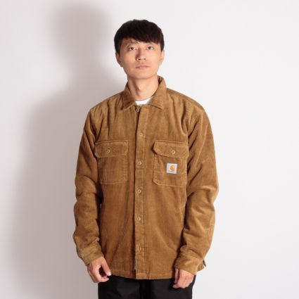 Carhartt WIP Whitsome Shirt Jacket Hamilton Brown