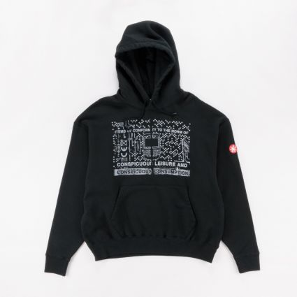 Cav Empt Consumption Heavy Hoody Black1