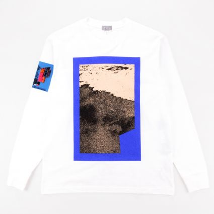 Cav Empt Fragmentary Long Sleeve T-Shirt White1