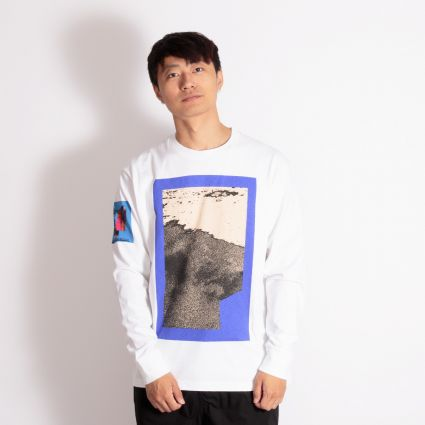Cav Empt Fragmentary Long Sleeve T-Shirt White