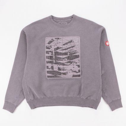 Cav Empt Overdye Conform Crew Neck Sweatshirt Brown1