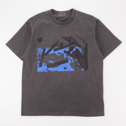Cav Empt Overdye Irrational Knowledge T-Shirt Charcoal1