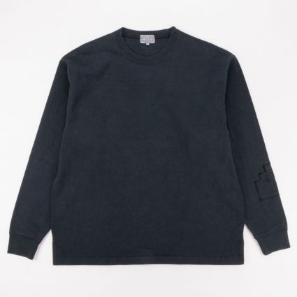 Cav Empt Society Heavy Long Sleeve T-Shirt Black1