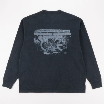 Cav Empt Society Heavy Long Sleeve T-Shirt Black