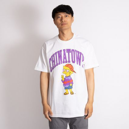 Chinatown Market x Simpsons Like You Know Whatever Arc T-Shirt White