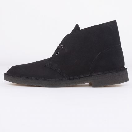 Clarks Originals Desert Boot Black Suede1