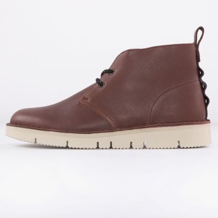 Clarks Desert BT 2.0 Burgundy Leather1