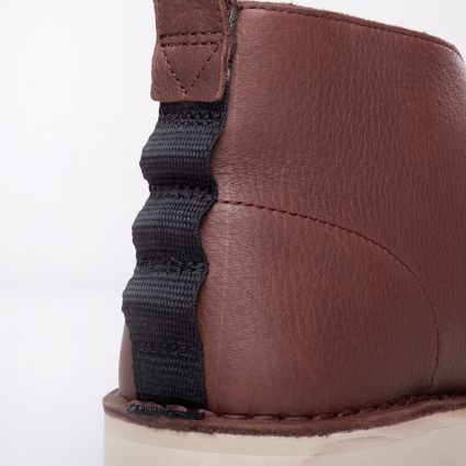 Clarks Originals Desert Boot 2.0 Burgundy Leather