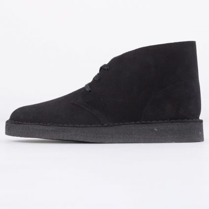 Clarks Originals Desert Coal Black Suede
