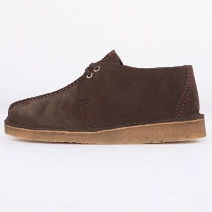 Clarks Originals Desert Trek Dark Brown1