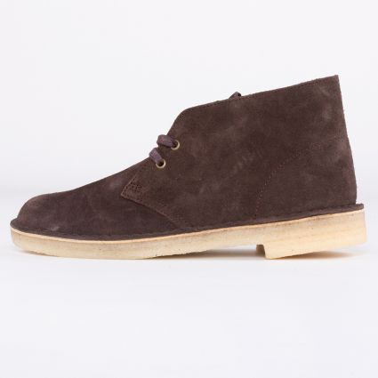 Clarks Originals Desert Boot Chocolate Suede1