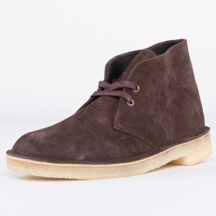 Clarks Originals Desert Boot Chocolate Suede