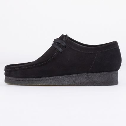 Clarks Originals Wallabee Black Suede1