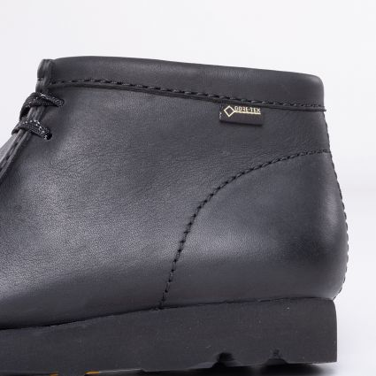 Clarks Originals Wallabee Boot GORE-TEX® Black Leather