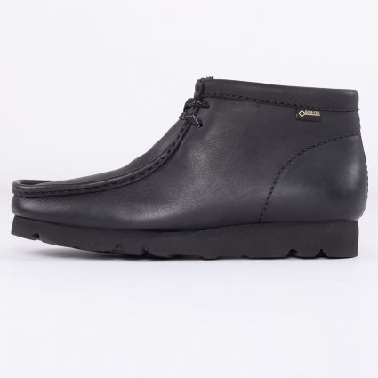 Clarks Originals Wallabee Boot GORE-TEX® Black Leather1