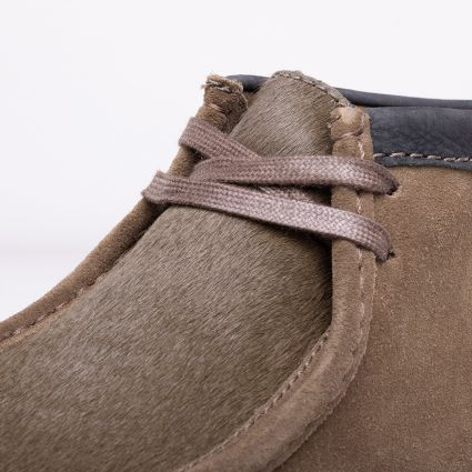 Clarks Originals Wallabee Boot Olive Interest