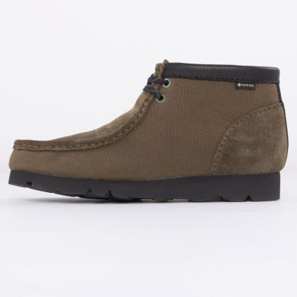 Clarks Originals Wallabee Boot GORE-TEX® Olive Textile1