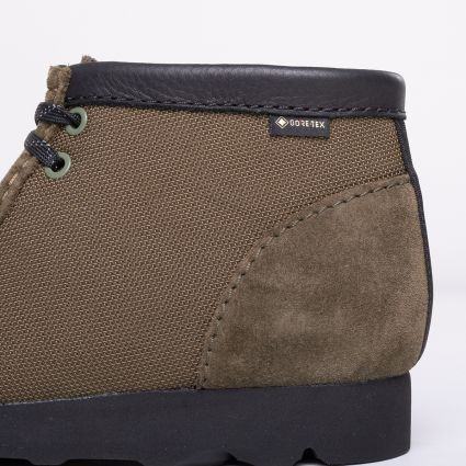 Clarks Originals Wallabee Boot GORE-TEX® Olive Textile