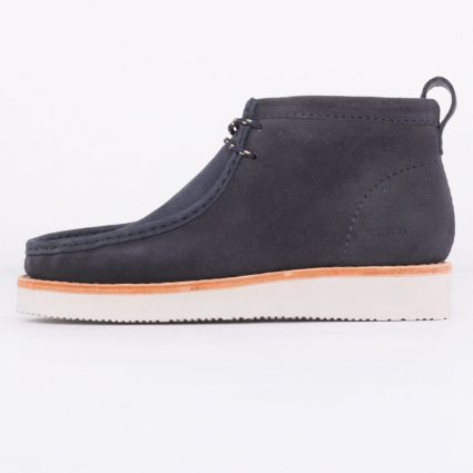 Clarks Originals Wallabee Hike Navy Combi1