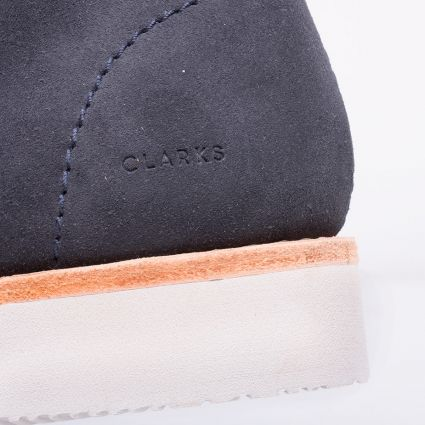 Clarks Originals Wallabee Hike Navy Combi