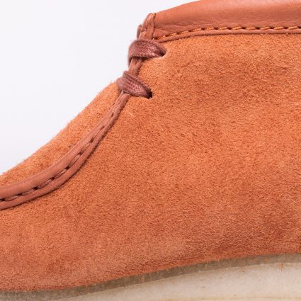 Clarks Wallabee Boot Tan Hairy Suede