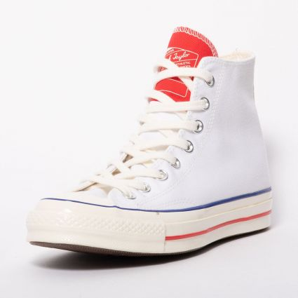 Converse Chuck 70 Hi 'Twisted Tongue' White/University Red/Egret 166826C