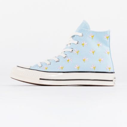 Converse Chuck 70 Hi Garden Party Pack Chambray Blue/Egret/Black1