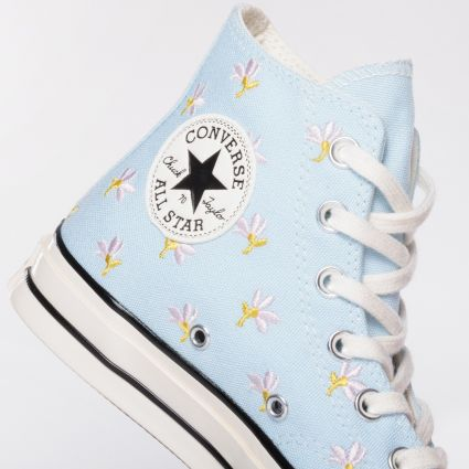 Converse Chuck 70 Hi Garden Party Pack Chambray Blue/Egret/Black