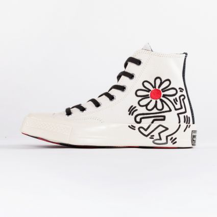 Converse x Keith Haring Chuck 70 Egret/Black/Red1
