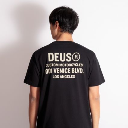 Deus Ex Machina Cogs T-Shirt Black