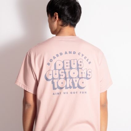 Deus Ex Machina Cruz T-Shirt Dusty Pink
