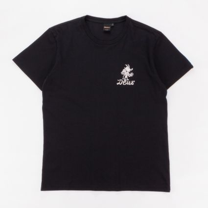 Deus Ex Machina Devil Venice T-Shirt Black1