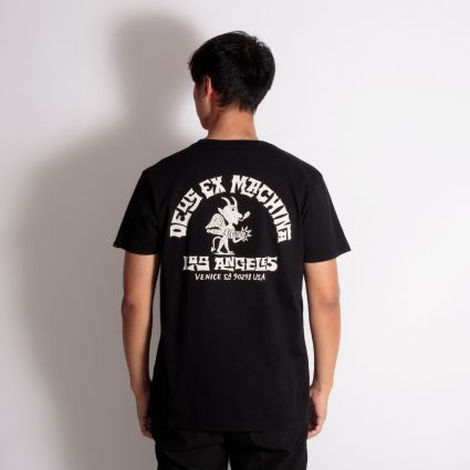 Deus Ex Machina Devil Venice T-Shirt Black