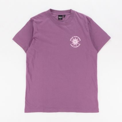 Deus Ex Machina Estrelar Recycled T-Shirt Berry Plum