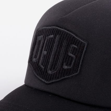 Deus Ex Machina Hayward Shield Trucker Cap Black