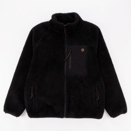 Deus Ex Machina Mackay Fleece Black1