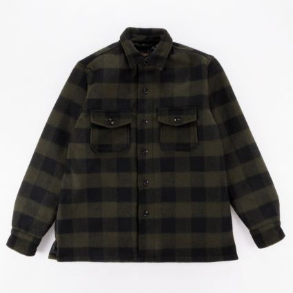 Deus Ex Machina Marcus Flannel Shirt Forest Night1