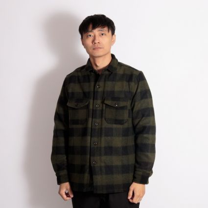 Deus Ex Machina Marcus Flannel Shirt Forest Night