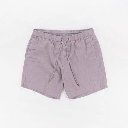 Deus Ex Machina Sandbar Hemp Short Mesh Grey Rock1