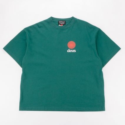 Deus Ex Machina Strata T-Shirt Teal1