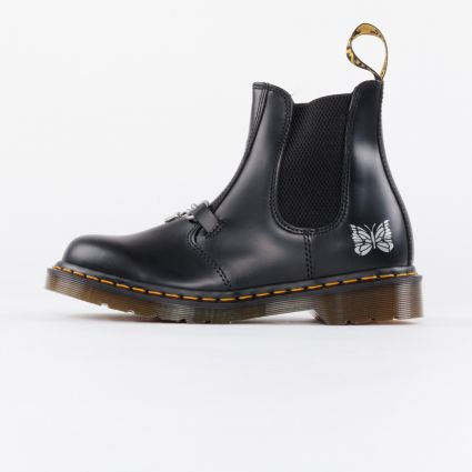 Dr Martens x Needles 2976 Snaffle Boot Made in England Black Smooth