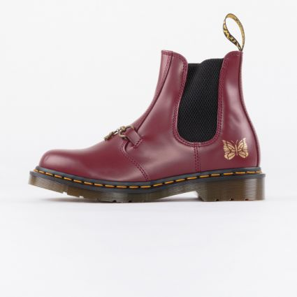 Dr Martens 2976 SNAFFLE NDLS CHERRY RED SMOOTH1