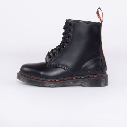 Dr Martens 1460 Beams x Babylon Black Smooth Leather Ankle Boots