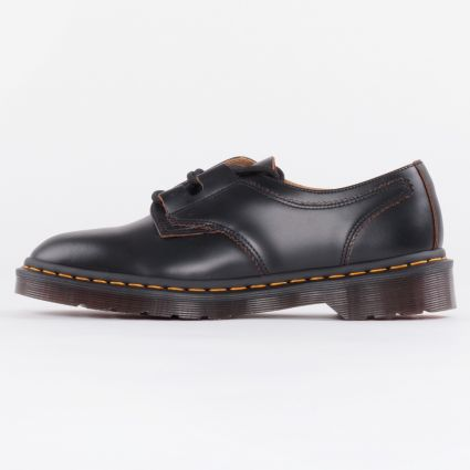 Dr Martens 1461 Ghillie Black Vintage Smooth1