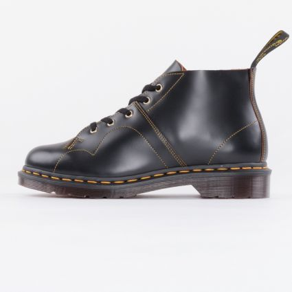 Dr Martens Church Black Vintage Smooth1