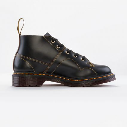 Dr Martens Church Black Vintage Smooth